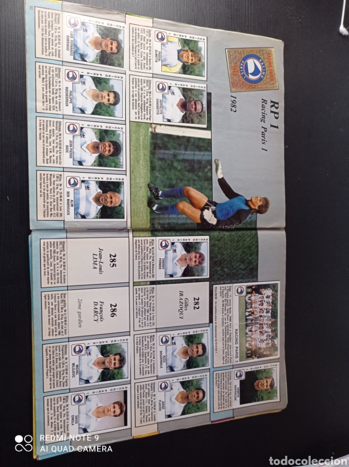 Coleccionismo Álbumes: Album de fútbol Foot 90 en images. Panini ligue 1 (liga francesa) - Foto 21 - 258871330
