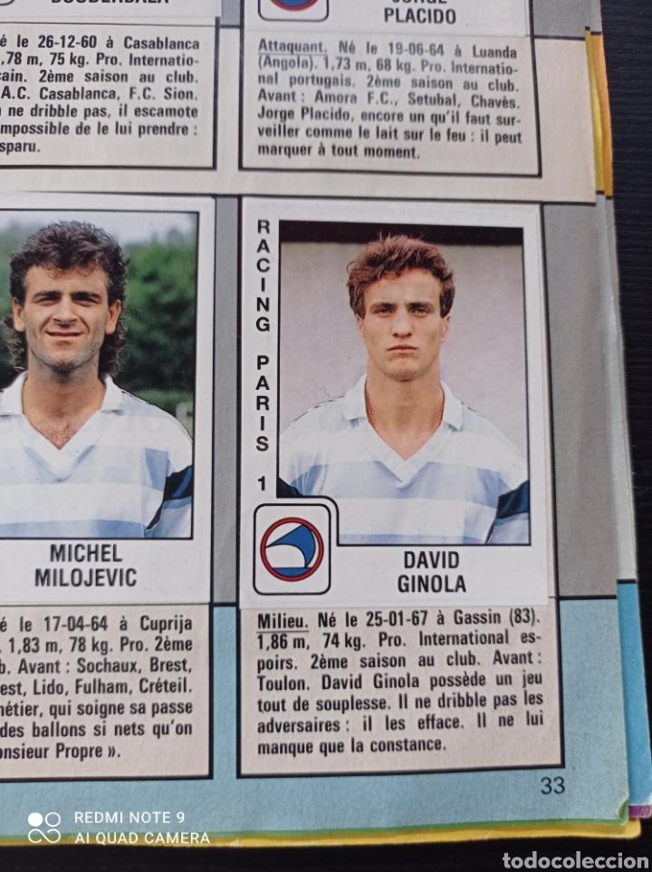 Coleccionismo Álbumes: Album de fútbol Foot 90 en images. Panini ligue 1 (liga francesa) - Foto 22 - 258871330