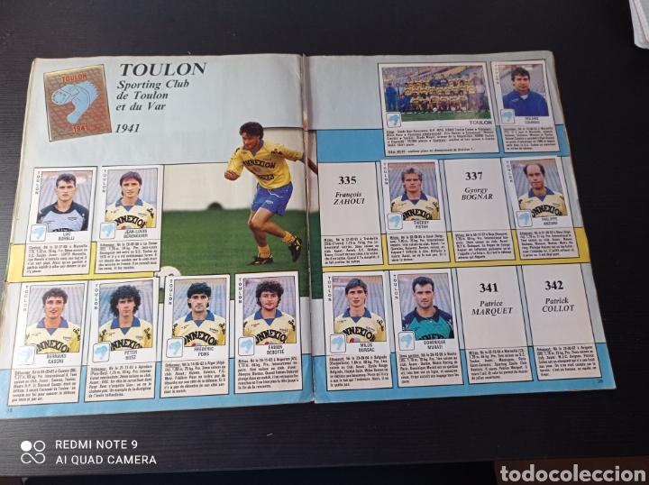 Coleccionismo Álbumes: Album de fútbol Foot 90 en images. Panini ligue 1 (liga francesa) - Foto 26 - 258871330