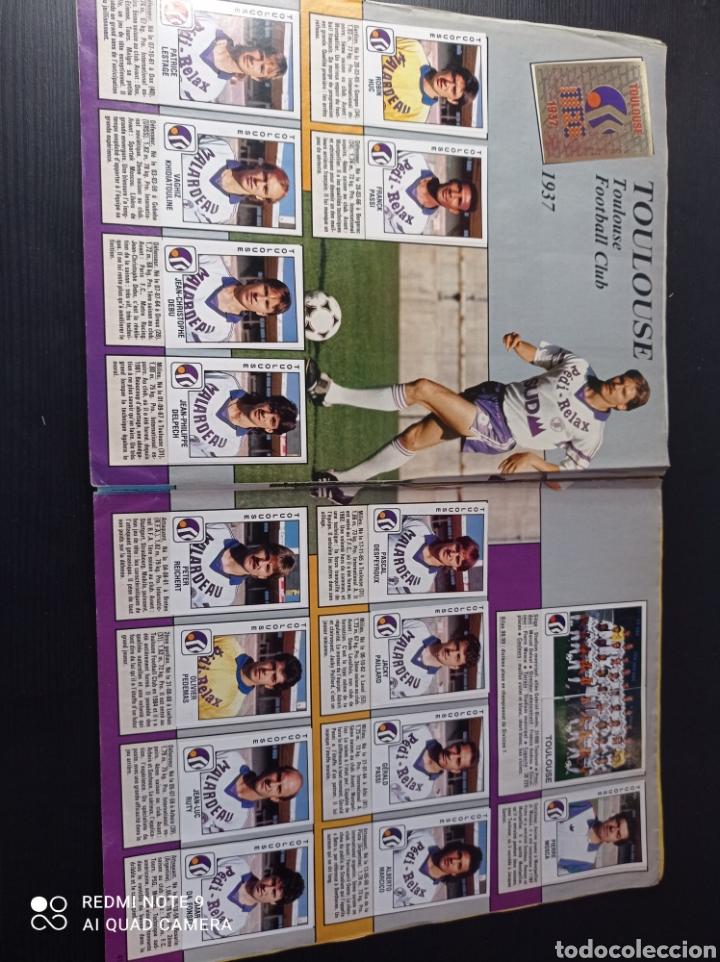 Coleccionismo Álbumes: Album de fútbol Foot 90 en images. Panini ligue 1 (liga francesa) - Foto 27 - 258871330