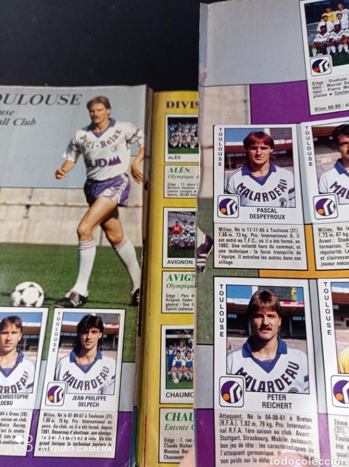 Coleccionismo Álbumes: Album de fútbol Foot 90 en images. Panini ligue 1 (liga francesa) - Foto 28 - 258871330