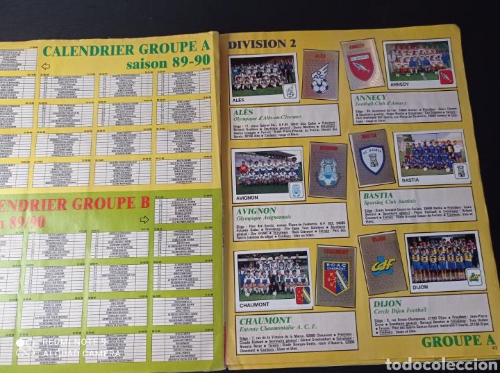 Coleccionismo Álbumes: Album de fútbol Foot 90 en images. Panini ligue 1 (liga francesa) - Foto 29 - 258871330
