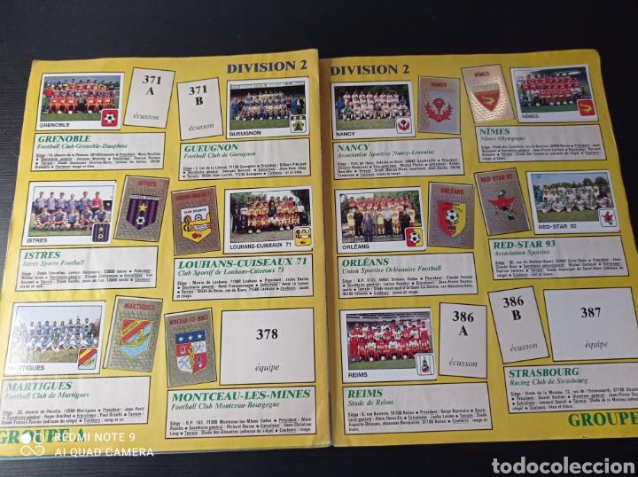 Coleccionismo Álbumes: Album de fútbol Foot 90 en images. Panini ligue 1 (liga francesa) - Foto 31 - 258871330