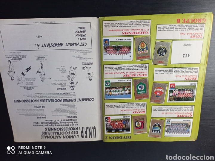 Coleccionismo Álbumes: Album de fútbol Foot 90 en images. Panini ligue 1 (liga francesa) - Foto 33 - 258871330