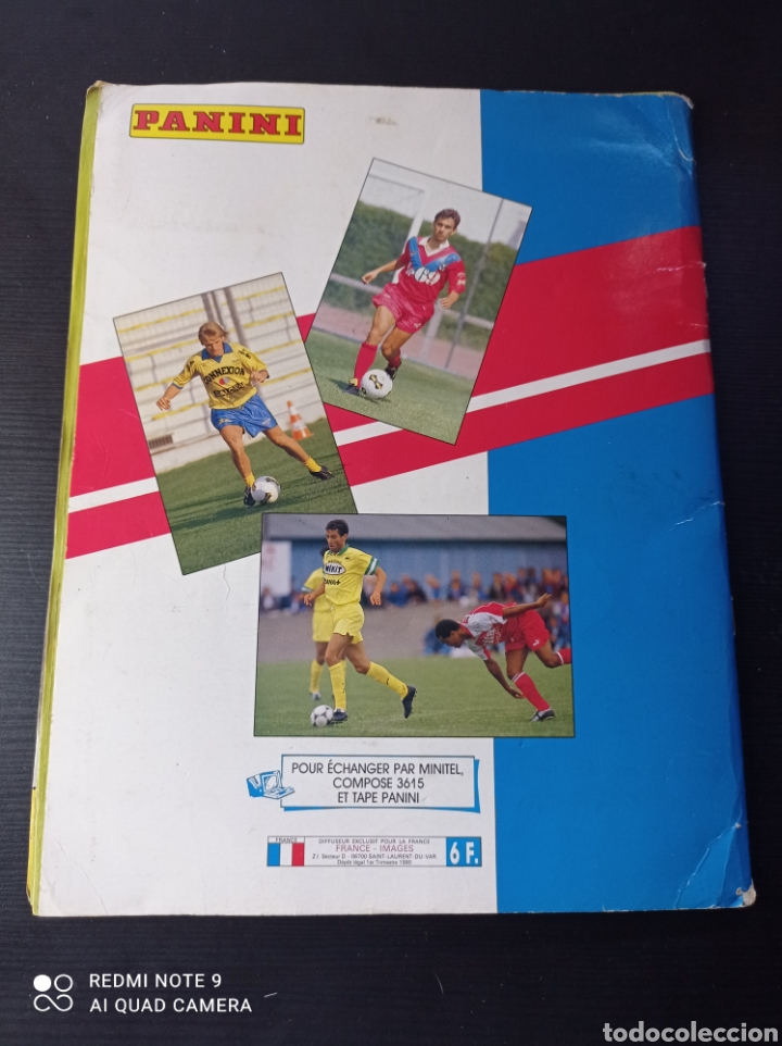 Coleccionismo Álbumes: Album de fútbol Foot 90 en images. Panini ligue 1 (liga francesa) - Foto 34 - 258871330