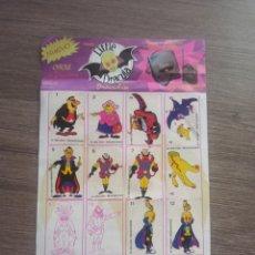 Coleccionismo Álbumes: ALBUM CHICLE LITTLE DRÁCULA DRACULIN. Lote 258978385