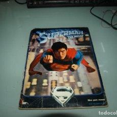 Coleccionismo Álbumes: ALBUM DE CROMOS SUPERMAN, THE MOVIE, EDITORIAL FHER. Lote 261260790
