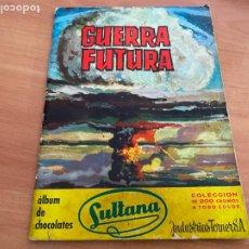 Coleccionismo Álbumes: GUERRA FUTURA ALBUM CROMOS CHOCOLATES SULTANA (COIB119). Lote 261270060