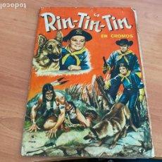 Coleccionismo Álbumes: RIN TIN TIN ALBUM CASI COMPLETO FHER (COIB119). Lote 261273900