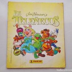 Coleccionismo Álbumes: ALBUM DEFECTO TELEÑECOS JIM HENSON 1995 CROMOS PANINI ARTCELONA. Lote 261623760