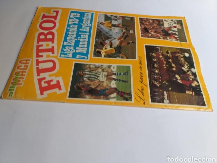 Coleccionismo Álbumes: Álbum maga fútbol liga española 78-79 y mundial Argentina. Incompleto - Foto 2 - 262279700