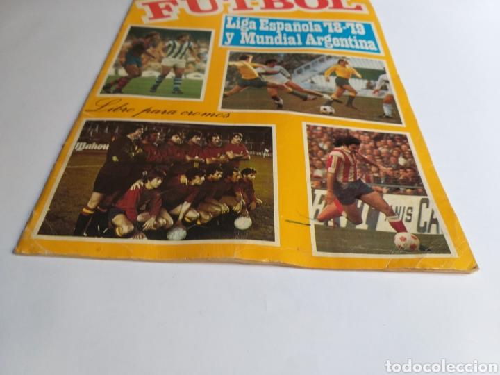 Coleccionismo Álbumes: Álbum maga fútbol liga española 78-79 y mundial Argentina. Incompleto - Foto 3 - 262279700