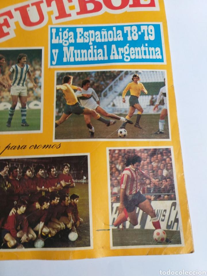 Coleccionismo Álbumes: Álbum maga fútbol liga española 78-79 y mundial Argentina. Incompleto - Foto 5 - 262279700