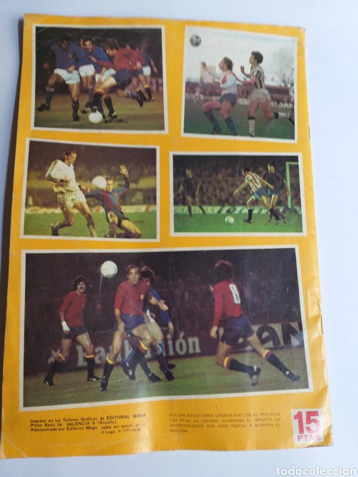 Coleccionismo Álbumes: Álbum maga fútbol liga española 78-79 y mundial Argentina. Incompleto - Foto 6 - 262279700