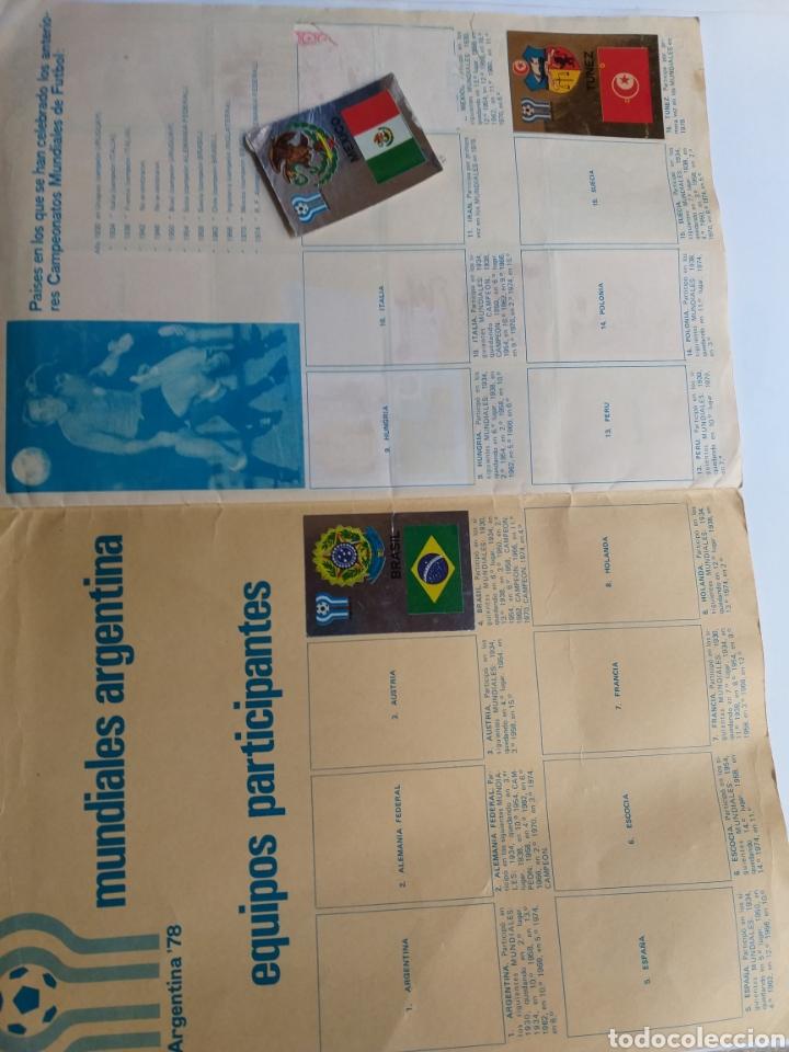 Coleccionismo Álbumes: Álbum maga fútbol liga española 78-79 y mundial Argentina. Incompleto - Foto 7 - 262279700