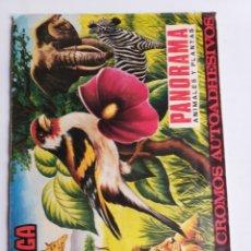Coleccionismo Álbumes: ÁLBUM MAGA. PANORAMA ANIMALES Y PLANTAS . INCOMPLETO. Lote 262894665