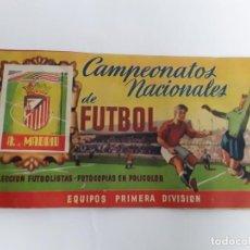 Coleccionismo Álbumes: ÁLBUM FÚTBOL ATLÉTICO DE MADRID 51/52. Lote 263068395