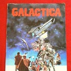 Coleccionismo Álbumes: GALACTICA (1979) ALBUM INCOMPLETO CON 194 CROMOS - ED. FHER - CON IMÁGENES DEL FILM. Lote 264444584