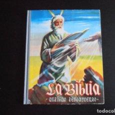 Coleccionismo Álbumes: ALBUM DE CROMOS, LA BIBLIA ANTIGUO TESTAMENTO, FALTAN 31 CROMOS. Lote 265731929