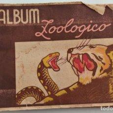 Coleccionismo Álbumes: ALBUM ZOOLÓGICO - COMERCIAL AFER - CON 165 CROMOS DE LOS 181. Lote 266097423