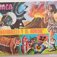 Coleccionismo Álbumes: LA NATURALEZA Y EL HOMBRE - ALBUM MAGA - A FALTA DE 10 CROMOS - BUEN ESTADO. Lote 266099688