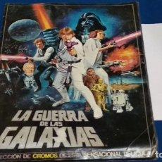 Coleccionismo Álbumes: ALBUM LA GUERRA DE LAS GALAXIAS. ED. PACOSA DOS. 1977 - COMPLETO - VER FOTOS. Lote 267521259