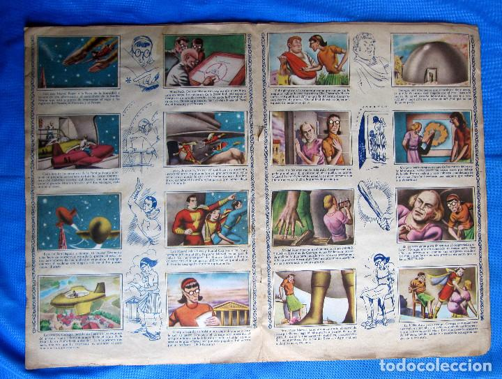 Coleccionismo Álbumes: HAZAÑAS DEL CAPITÁN MARVEL. INCOMPLETO. FALTAN 2 CROMOS. EDITORIAL FHER, BILBAO, 1940S - Foto 5 - 267754329