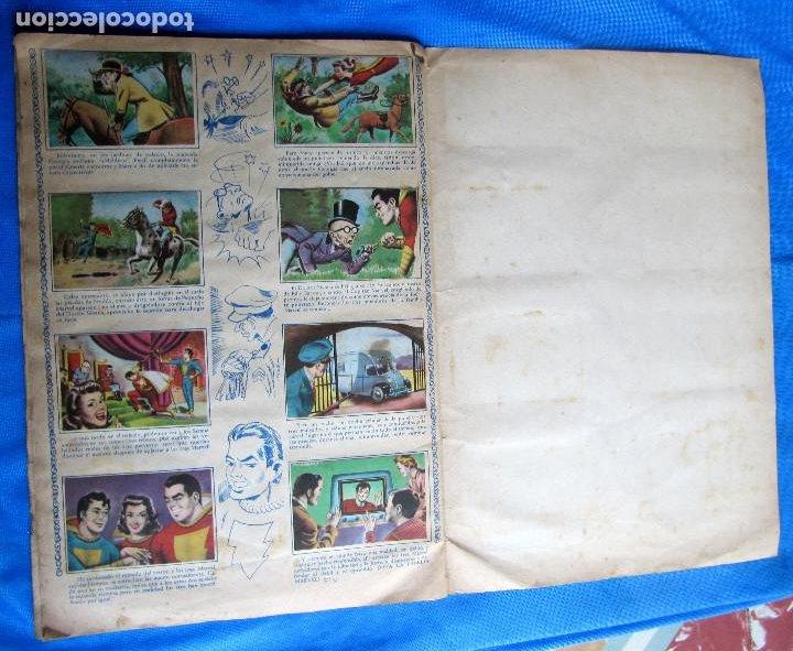 Coleccionismo Álbumes: HAZAÑAS DEL CAPITÁN MARVEL. INCOMPLETO. FALTAN 2 CROMOS. EDITORIAL FHER, BILBAO, 1940S - Foto 7 - 267754329