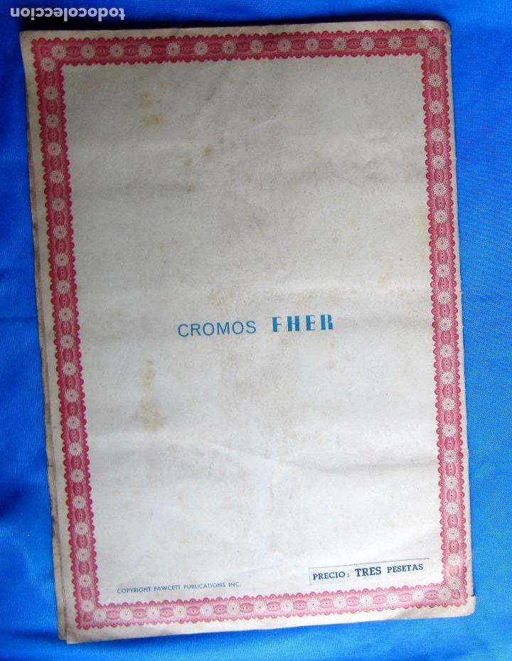 Coleccionismo Álbumes: HAZAÑAS DEL CAPITÁN MARVEL. INCOMPLETO. FALTAN 2 CROMOS. EDITORIAL FHER, BILBAO, 1940S - Foto 8 - 267754329