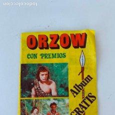 Coleccionismo Álbumes: ORZOW ORZOWEY ALBUM DE CROMOS INCOMPLETO. Lote 268423009