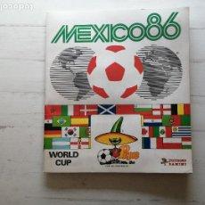 Collectionnisme Albums: ALBUM CROMOS MUNDIAL MEXICO 86 *PANINI* INCOMPLETO - VER FOTOS - BUEN ESTADO -. Lote 268590849