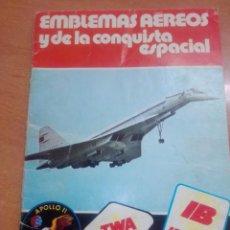 Coleccionismo Álbumes: ALBUM VACIO EMBLEMAS AEREOS Y DE LA CONQUISTA ESPACIAL -- PANRICO. Lote 268735729