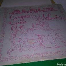 Coleccionismo Álbumes: ANTIGUO ÁLBUM CROMOS. CANTARES DE CUNA. EDITORIAL FHER. CON 28 CROMOS DE 78. Lote 268916939