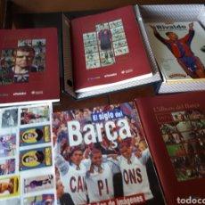 Coleccionismo Álbumes: F C BARCELONA LOTE. Lote 268922659