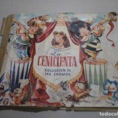 Coleccionismo Álbumes: ALBUM LA CENICIENTA DE BRUGUERA A FALTA DE 5 CROMOS. Lote 269254833