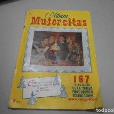 Coleccionismo Álbumes: ALBUM MUJERCITAS DE CLIPER A FALTA DE 9 CROMOS. Lote 269255063