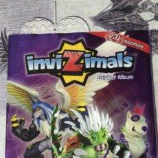 Coleccionismo Álbumes: ALBUM INVIZIMALS INCOMPLETO. Lote 269588453
