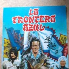 Coleccionismo Álbumes: 1 ALBUM VACIO ** .LA FRONTERA AZUL **- EDITORIAL FHER 1978. Lote 269630838