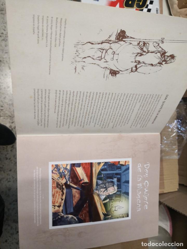 Coleccionismo Álbumes: Album incompleto COLECCIÓn 120 CROMOS DON QUIJOTE DE LA MANCHA (día, jsp, millac) Faltan 9.Ver fotos - Foto 2 - 271880653