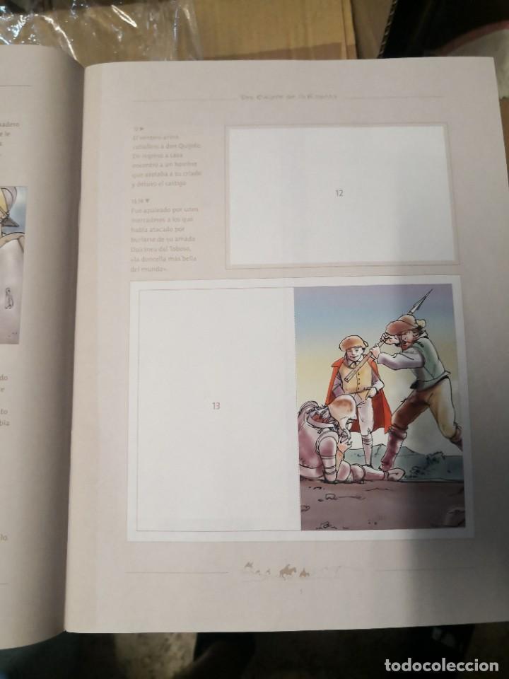 Coleccionismo Álbumes: Album incompleto COLECCIÓn 120 CROMOS DON QUIJOTE DE LA MANCHA (día, jsp, millac) Faltan 9.Ver fotos - Foto 3 - 271880653