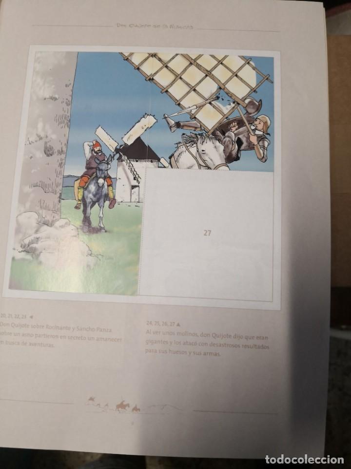 Coleccionismo Álbumes: Album incompleto COLECCIÓn 120 CROMOS DON QUIJOTE DE LA MANCHA (día, jsp, millac) Faltan 9.Ver fotos - Foto 4 - 271880653