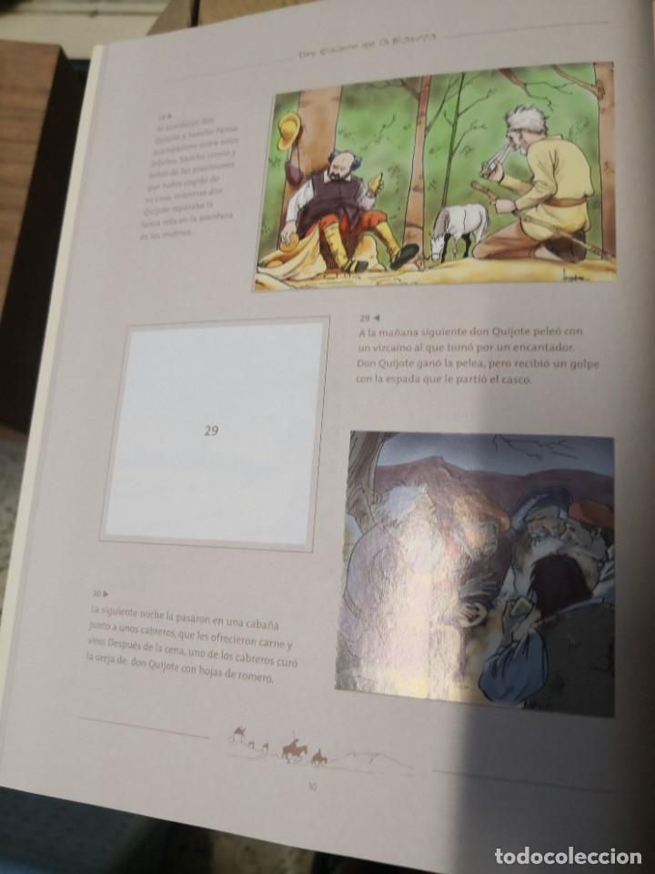 Coleccionismo Álbumes: Album incompleto COLECCIÓn 120 CROMOS DON QUIJOTE DE LA MANCHA (día, jsp, millac) Faltan 9.Ver fotos - Foto 5 - 271880653