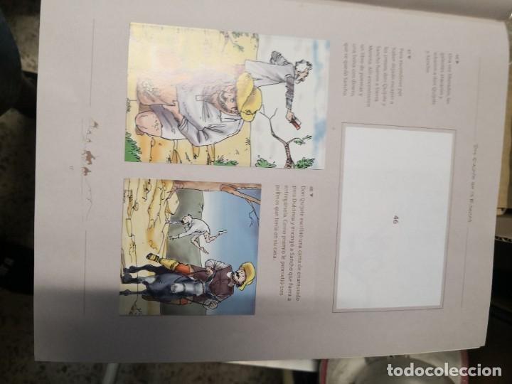 Coleccionismo Álbumes: Album incompleto COLECCIÓn 120 CROMOS DON QUIJOTE DE LA MANCHA (día, jsp, millac) Faltan 9.Ver fotos - Foto 6 - 271880653