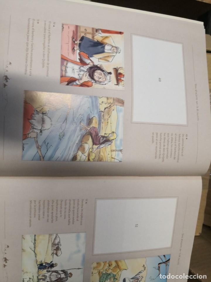 Coleccionismo Álbumes: Album incompleto COLECCIÓn 120 CROMOS DON QUIJOTE DE LA MANCHA (día, jsp, millac) Faltan 9.Ver fotos - Foto 7 - 271880653
