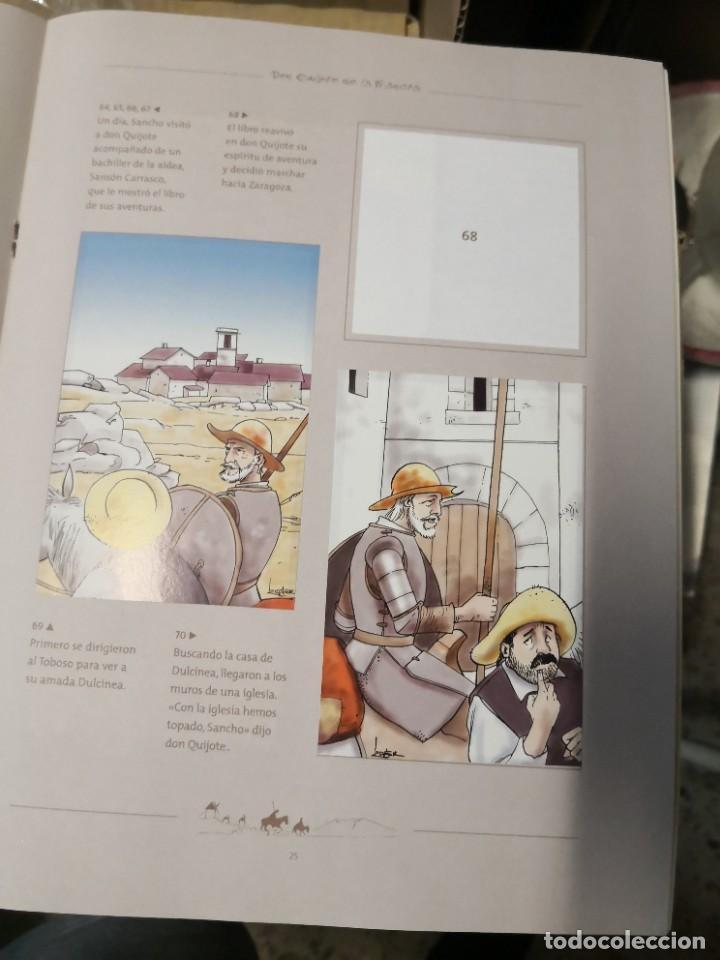 Coleccionismo Álbumes: Album incompleto COLECCIÓn 120 CROMOS DON QUIJOTE DE LA MANCHA (día, jsp, millac) Faltan 9.Ver fotos - Foto 8 - 271880653