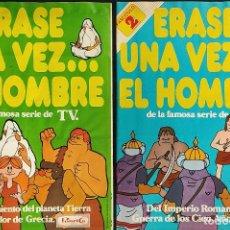 Coleccionismo Álbumes: ERASE UNA VEZ EL HOMBRE... FASCICULOS 1 Y 2 - PANRICO -. Lote 275648088