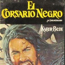 Coleccionismo Álbumes: ALBUM DE CROMOS - EL CORSARIO NEGRO - CONTIENE 19 CROMOS - PANRICO -. Lote 275654813