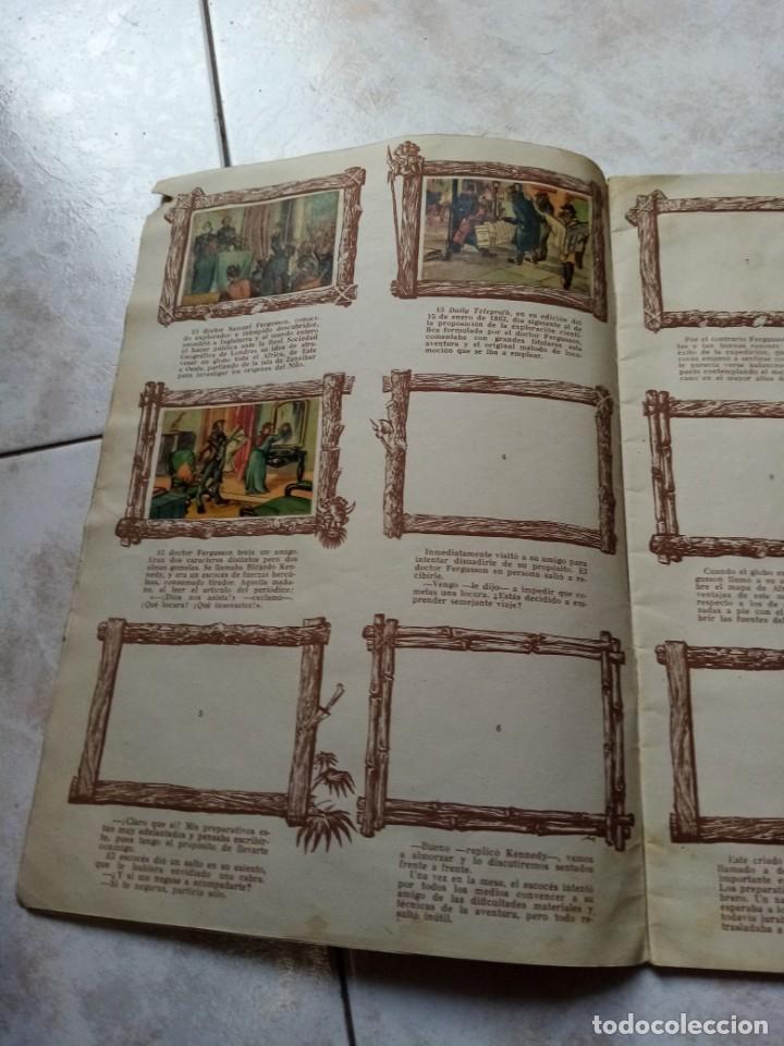 Coleccionismo Álbumes: ALBUM DE CROMOS CINCO SEMANAS EN GLOBO / TORAY - Foto 3 - 276957288