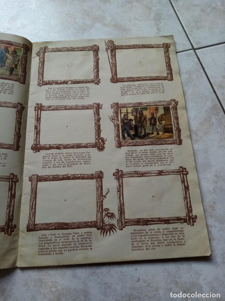 Coleccionismo Álbumes: ALBUM DE CROMOS CINCO SEMANAS EN GLOBO / TORAY - Foto 4 - 276957288