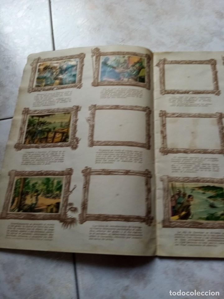 Coleccionismo Álbumes: ALBUM DE CROMOS CINCO SEMANAS EN GLOBO / TORAY - Foto 5 - 276957288